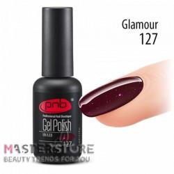 Гель-лак PNB 127 Glamour, 8 мл