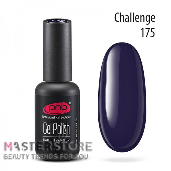 Гель-лак PNB 175 Challenge, 8 мл