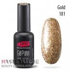 Гель-лак PNB 181 Star Way Gold, 8 мл