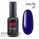 Гель-лак PNB 197 Crazy Flip, 8 мл
