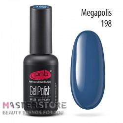 Гель-лак PNB 198 Megapolis, 8 мл