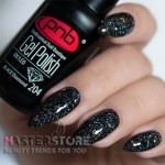 Гель-лак PNB 204 Black Diamond, 8 мл