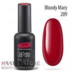 Гель-лак PNB 209 Bloody Mary, 8 мл