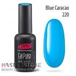 Гель-лак PNB 220 Blue Curacao, 8 мл