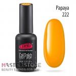 Гель-лак PNB 222 Papaya, 8 мл
