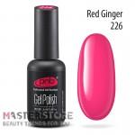 Гель-лак PNB 226 Red Ginger, 8 мл