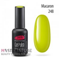 Гель-лак PNB 248 Macaron, 8 мл