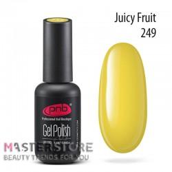 Гель-лак PNB 249 Juicy Fruit, 8 мл