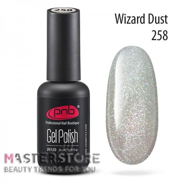 Гель-лак PNB 258 Wizard Dust, 8 мл