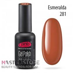 Гель-лак PNB 281 Esmeralda, 8 мл