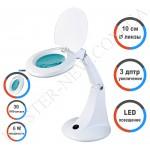 Лампа-лупа LED настольная 2012B (3 ДИОПТРИИ)