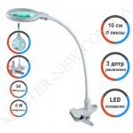 Лампа-лупа LED настольная 2014 (3 ДИОПТРИИ)