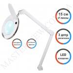 Лампа-лупа LED настольная 6014 CCT (5 ДИОПТРИЙ) с регулировкой света