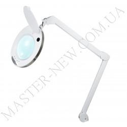Лампа-лупа LED настольная 6014 (3 ДИОПТРИИ) с регулировкой света
