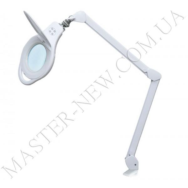 Лампа-лупа LED настольная 8060 (5 ДИОПТРИЙ) с регулировкой света