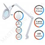 Лампа-лупа LED настольная 8060 (3 ДИОПТРИИ) с регулировкой света