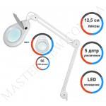 Лампа-лупа LED настольная 8066-A (5 ДИОПТРИЙ) без регулировки света