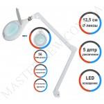 Лампа-лупа LED настольная 8066 D5-U (5 ДИОПТРИЙ) с регулировкой света