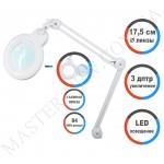 Лампа-лупа LED настольная 9006-D (3 ДИОПТРИИ) с регулировкой света