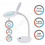 Лампа-лупа LED настольная 9101-A (3 ДИОПТРИИ)