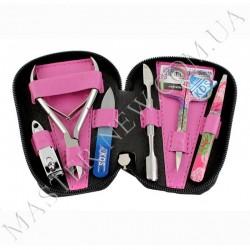 Набор маникюрный KDS 04-8103 (розовый)
