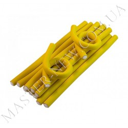 Sibel 4222119 - гибкие бигуди желтые 18см x 12мм