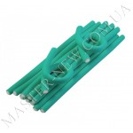 Sibel 4222129 - гибкие бигуди 18 см. х 10 мм. зелёные