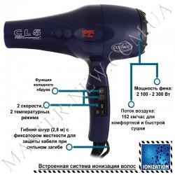 Фен для волос профессиональный Coifin CL5R ionic
