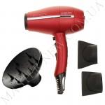 Фен для волос GA.MA G-EVO 3800 Ultralight Red Titanium Halogen Ion A11.UL3800DCCHAL.RS (2000 W)
