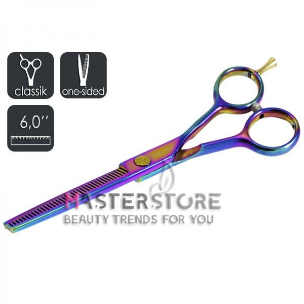 Ножницы парикмахерские филировочные односторонние Master-Pro градиент (6 дюймов)