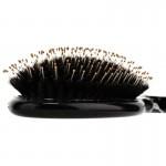 Массажная расческа Olivia Garden Ceramic + Ion Supreme Combo с комбинированной щетиной (черная)