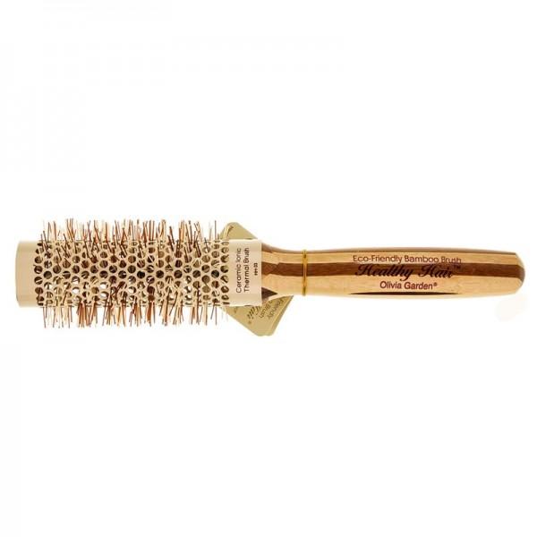 Термобрашинг бамбуковый Olivia Garden Healthy Hair, 33 мм