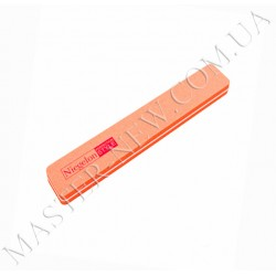 Шлифовка для ногтей Niegelon 100/180 прямая оранжевая
