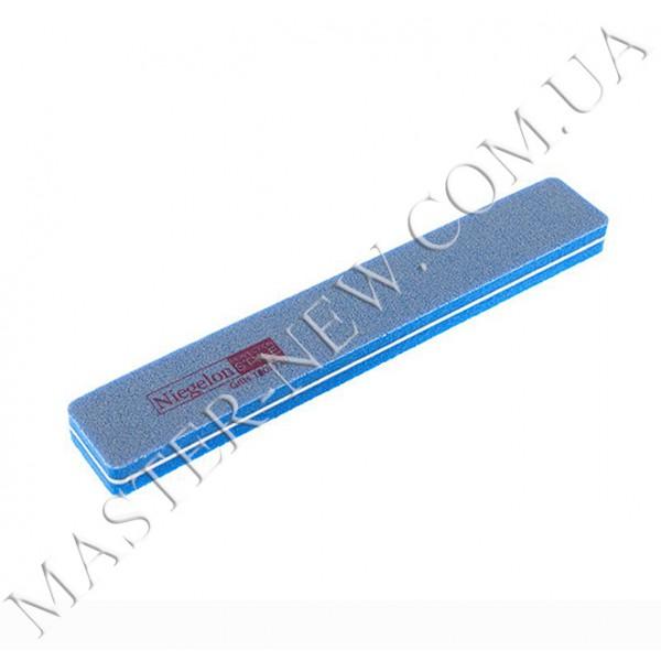 Шлифовка для ногтей Niegelon 100/180 прямая синяя