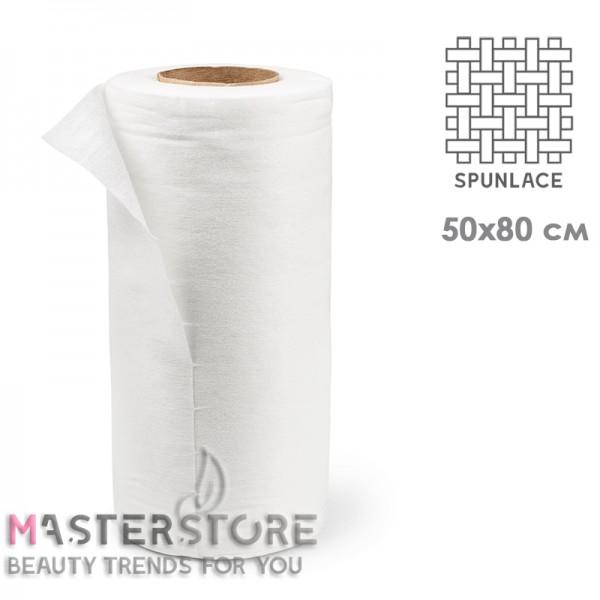 Полотенца одноразовые с перфорацией в рулоне Clean Comfort из спанлейса 50x80 см, 40 г/м2 (100 шт)