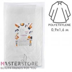 Пеньюары полиэтиленовые одноразовые Panni Mlada 0,9x1,6 м (50 шт)