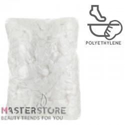 Чехлы на ванночку для педикюра полиэтиленовые одноразовые без резинки-фиксатора (100 шт)