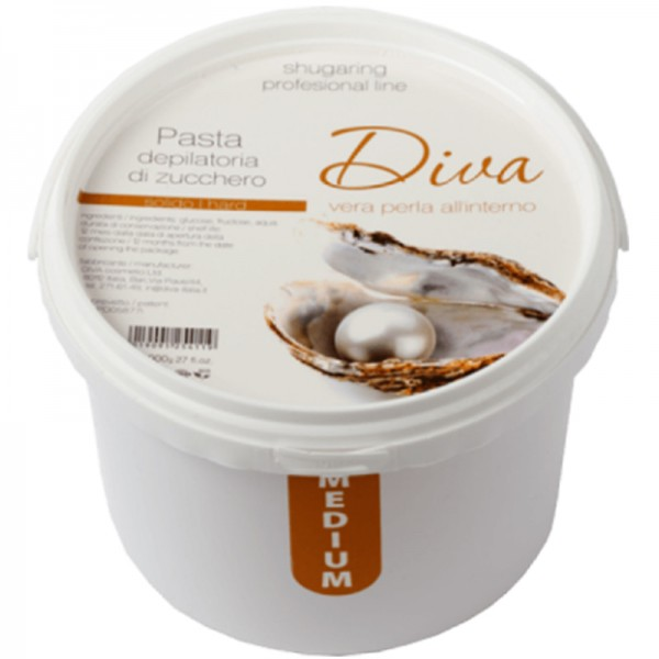 Сахарная паста для депиляции Diva Medium 1100 гр.