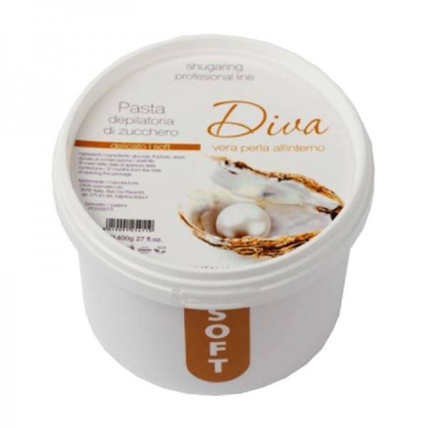 Сахарная паста для депиляции Diva soft 450 гр.