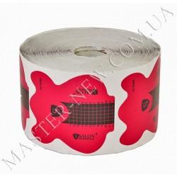 Формы для наращивания ногтей одноразовые в рулоне Salon  (500 шт.) розовые