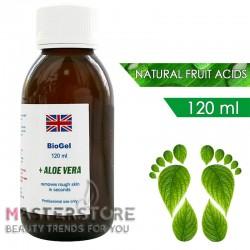 Биогель для педикюра с фруктовыми кислотами BioGel Aloe Vera (120 мл)