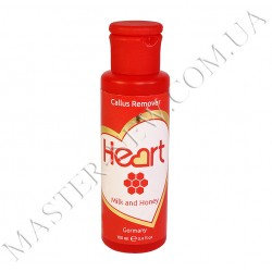 Heart Callus Remover средство от натоптышей  (Milk and Honey) 100 ml