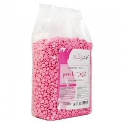 Воск низкотемпературный пленочный Beauty Hall Pink TiO2 в гранулах (1 кг)