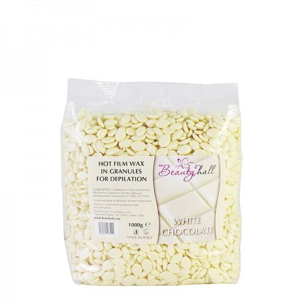 Воск пленочный Beauty Hall Белый Шоколад (0,5 кг)