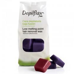Горячий воск Depilflax Мальва (1 кг)
