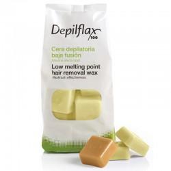 Горячий воск Depilflax Натуральный (1 кг)