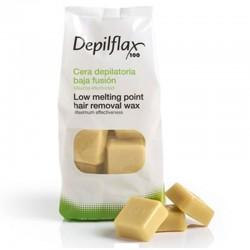 Горячий воск Depilflax Слоновая кость (1 кг)