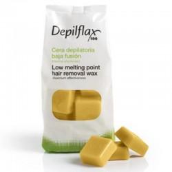 Горячий воск Depilflax Золото (1 кг)