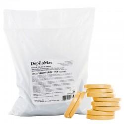 Воск пленочный DepiloMax Натуральный в дисках (1 кг)