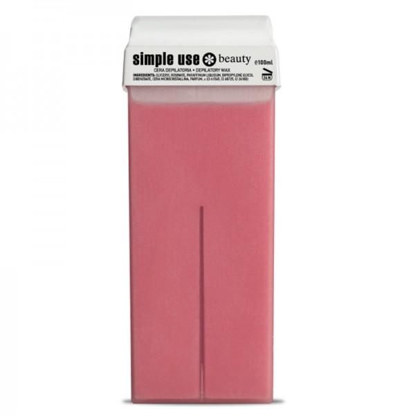 Воск кассетный Simple Use Beauty Роза (100 мл)
